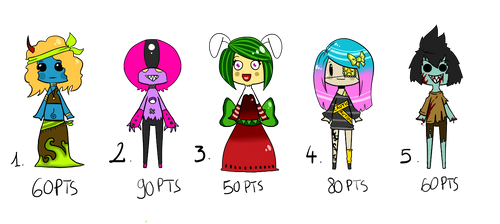 Set of Adoptables
