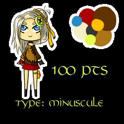 Minuscule girl [ADOPTABLE]