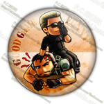 Chris with Wesker