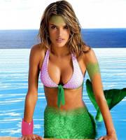 Alessandra Ambrosio mermaid morph by BunnieMaster