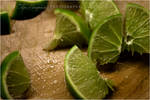 Lime Wedges by olgieshmolgie