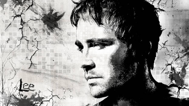 Lee Pace BW