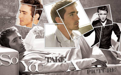 Lee Pace - So U take a picture