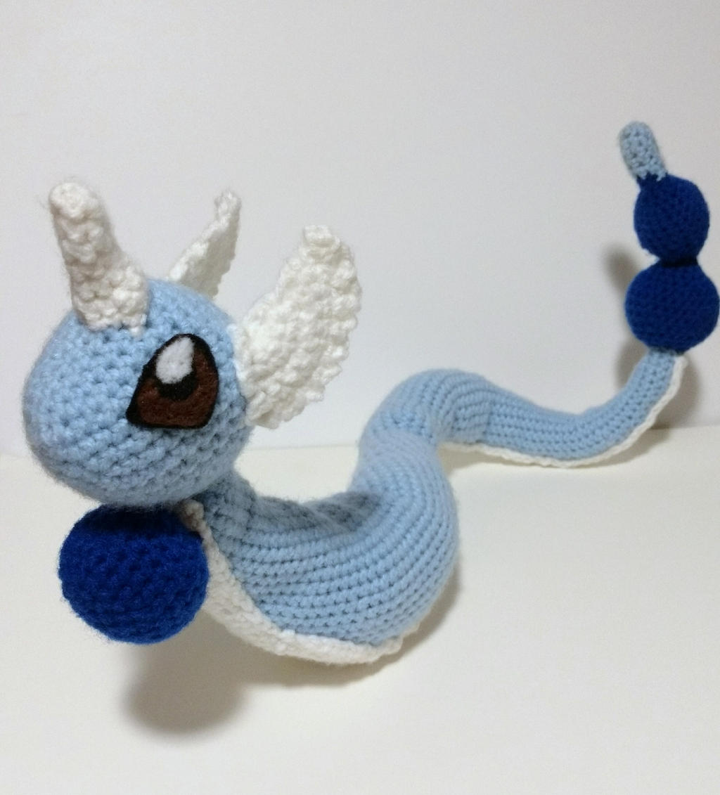 Dragonair Amigurumi Pattern : Dragonair Amigurumi by Papahodou on DeviantArt