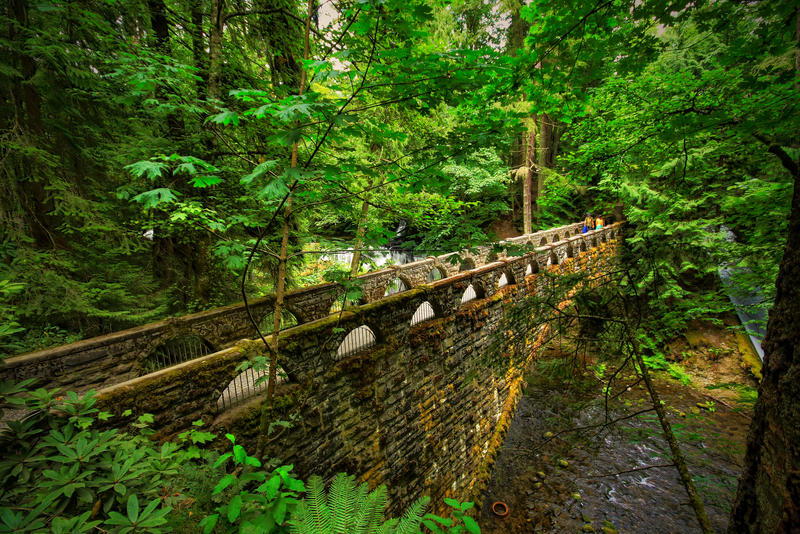Whatcom Falls Bridge