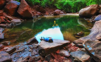 Upper Emerald Pools