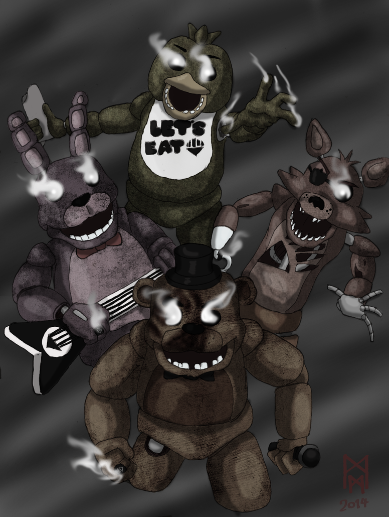 Blackest Night at Freddy's by MorbiusMonster