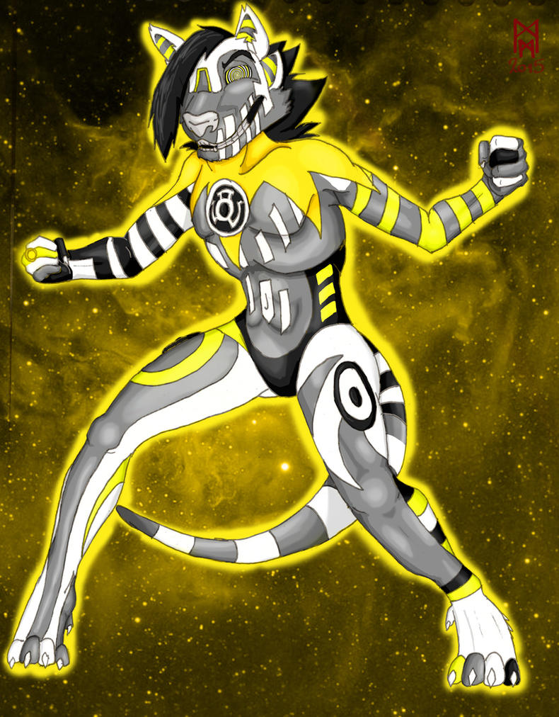 Sinestro Corps Beauty of the Bass by MorbiusMonster