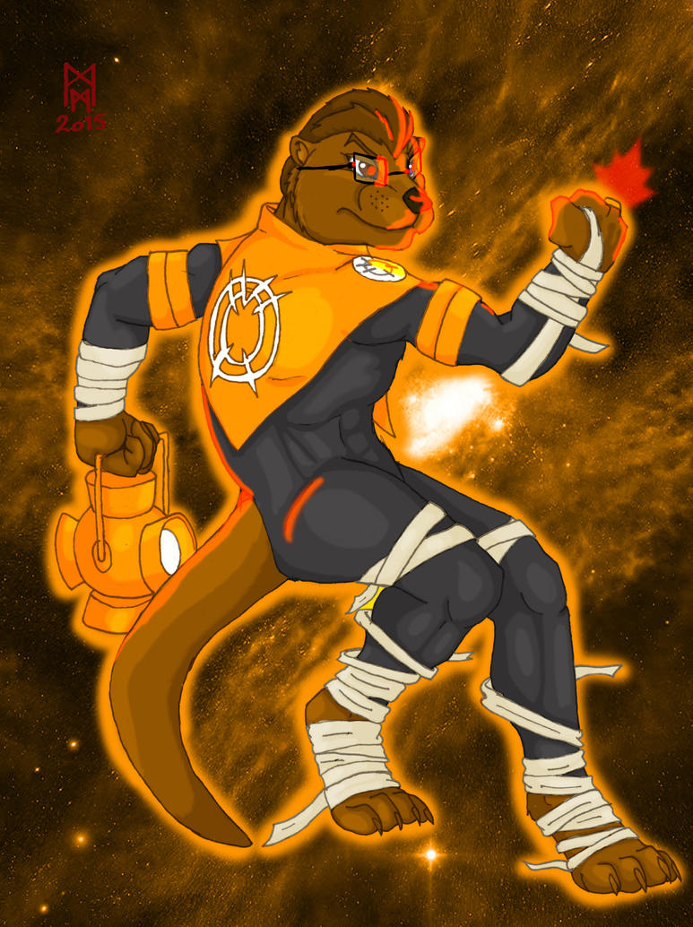 Orange Lantern Domswild by MorbiusMonster