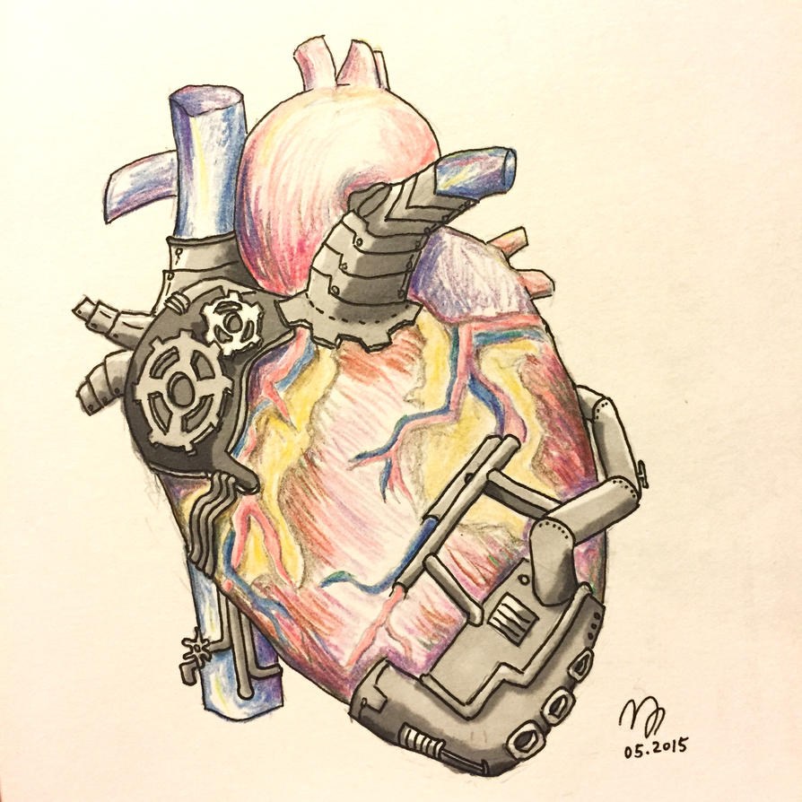 Mech Heart by tamumu61