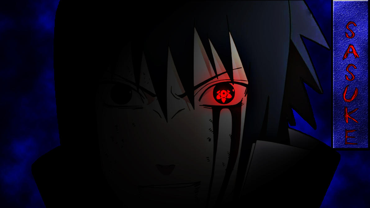 Sasuke Evil Badass Wallpaper By GameZBase