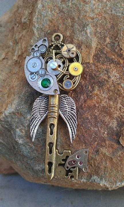 Bionic Angel Fantasy Key by ArtByStarlaMoore