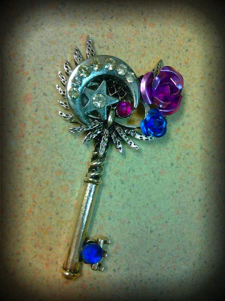 Moon Guardian Fantasy Key by ArtByStarlaMoore