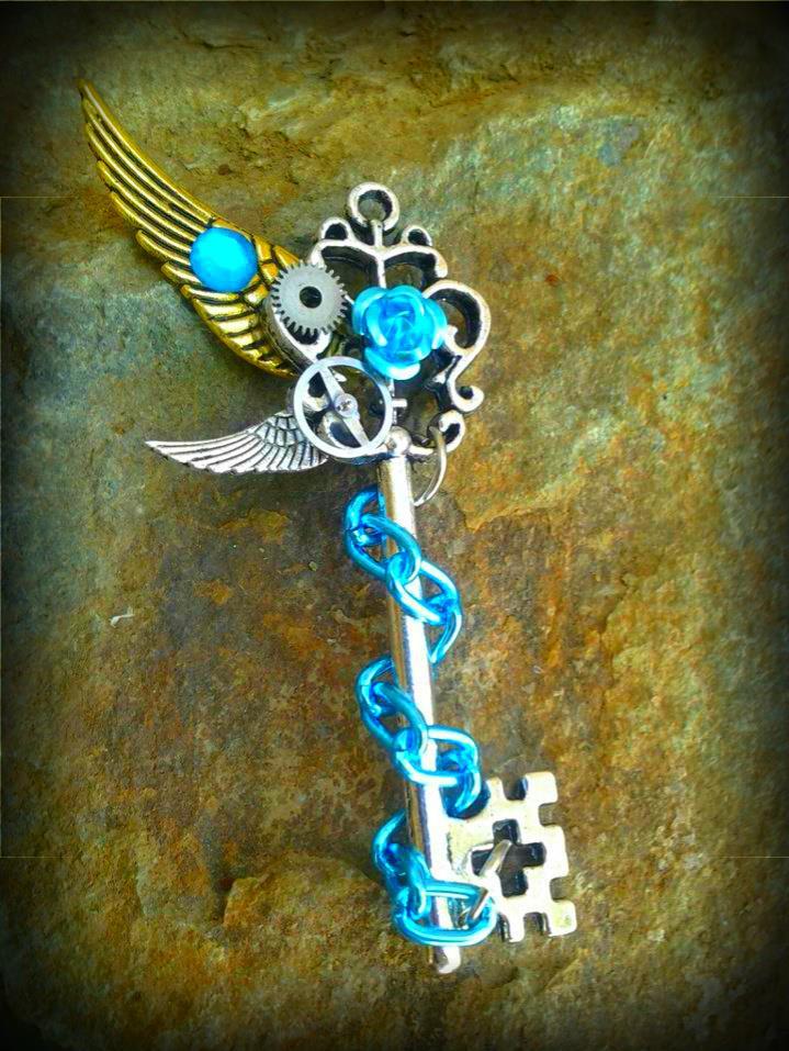 Heaven's Gate Fantasy Key by ArtByStarlaMoore