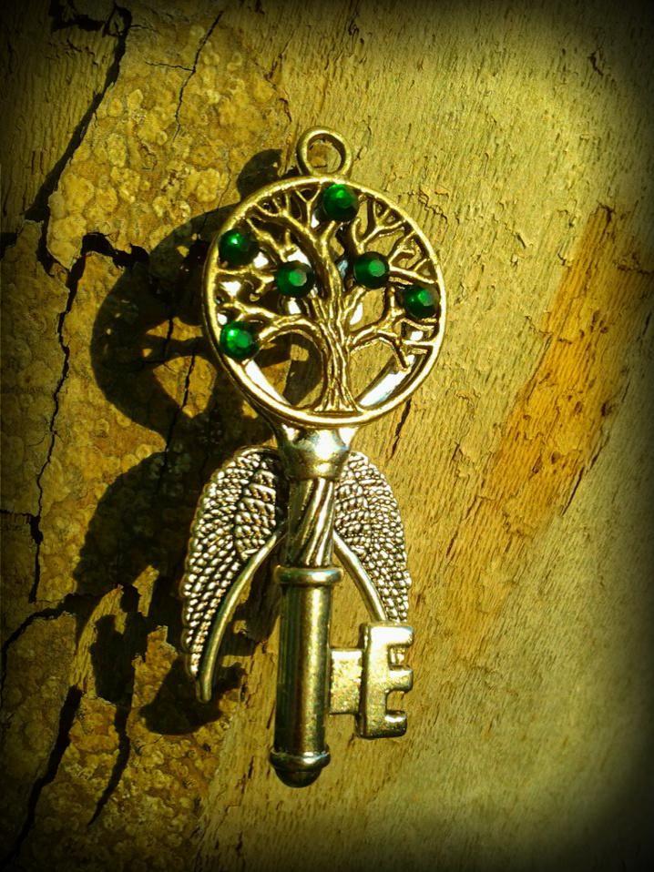Tree of Life Fantasy Key by ArtByStarlaMoore