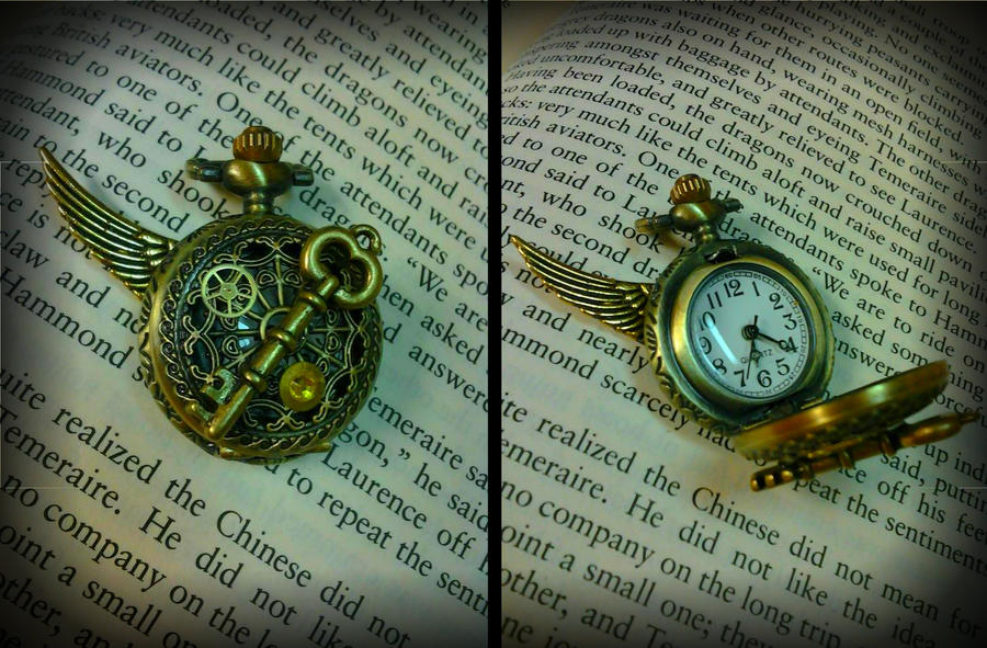 Functional Time Keeper Pocket Watch by Starl33na