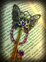 The Butterfly Queen Fantasy Key by ArtByStarlaMoore