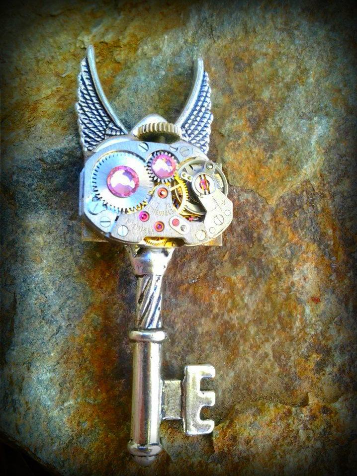 Ticking Fairy Fantasy key by ArtByStarlaMoore