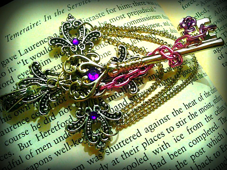 Lilac Goddess Fantasy Key by ArtByStarlaMoore