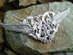 Cathedral of Wings Pendant 2