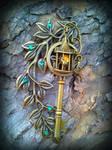 Garden Lamp Post Fantasy Key 2