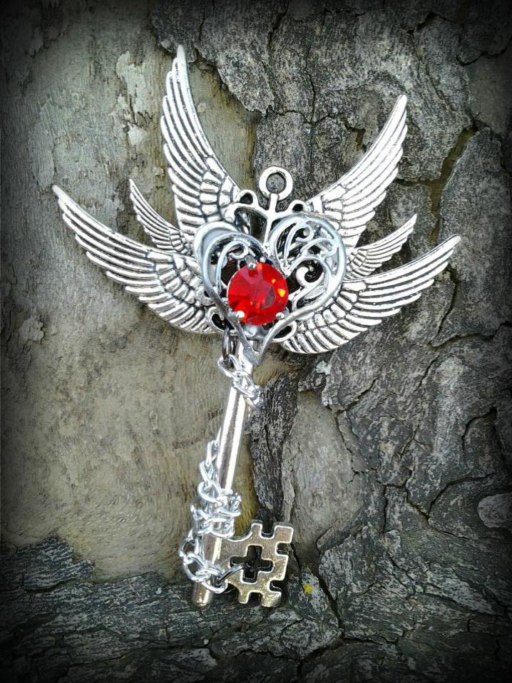Burning Love Fantasy Key by ArtByStarlaMoore