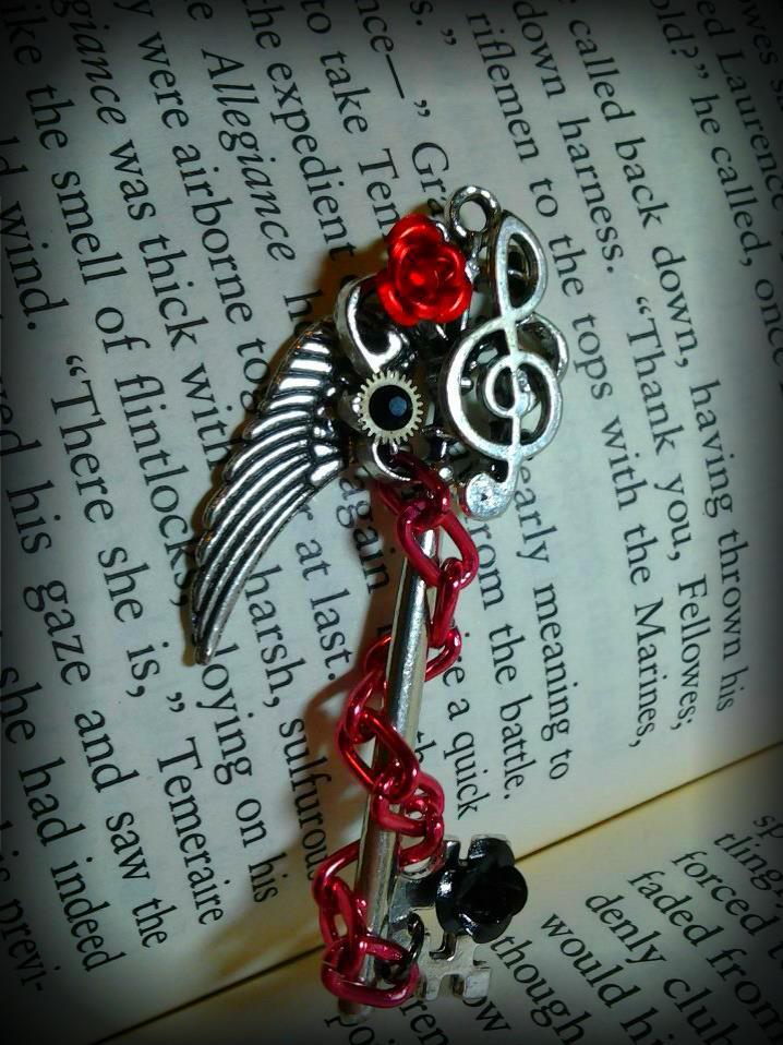 Rose Melody Fantasy Key by ArtByStarlaMoore