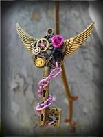 Steampunk Princess by ArtByStarlaMoore