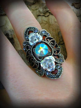 Heavenly Swarovski Ring