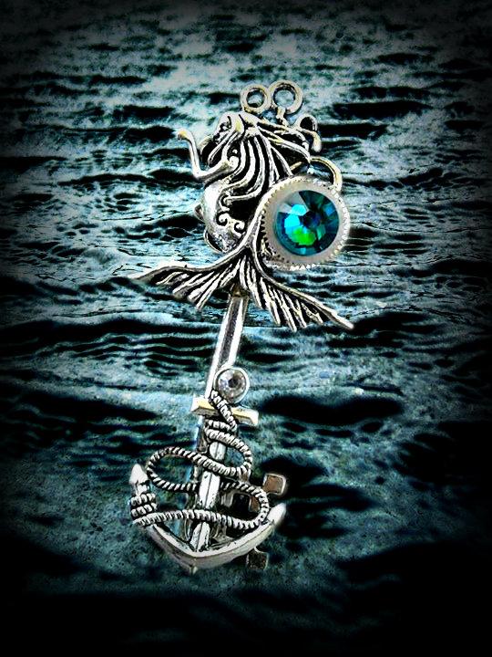 Dark Mermaid Art Dark Mermaid by ArtByS...