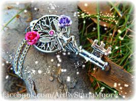Garden Enchantment 2 by ArtByStarlaMoore