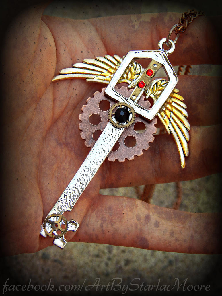Metal chocobo keyblade pendant by artbystarlamoore on deviantart metal chocobo keyblade pendant by artbystarlamoore aloadofball Choice Image