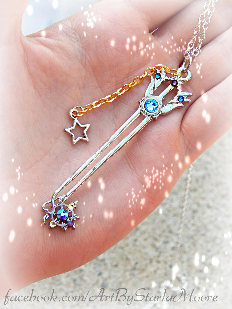 oathkeeper auction keyblade pendant by artbystarlamoore on