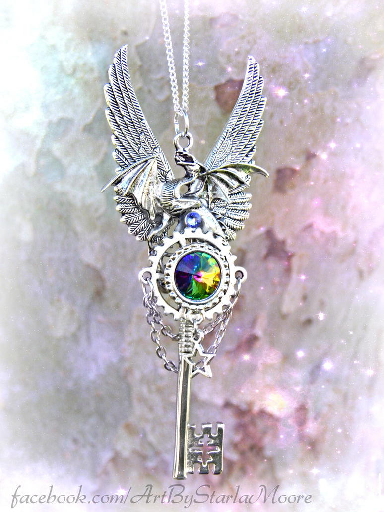 Mystic Celestial Dragon by ArtByStarlaMoore