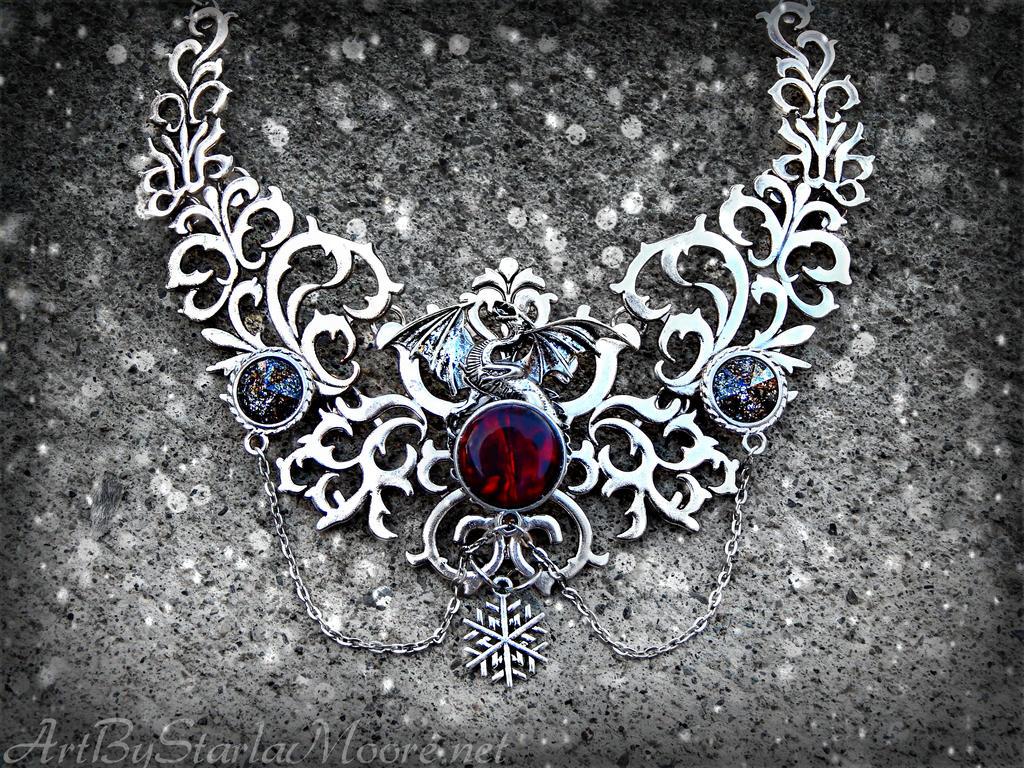 Cruelest Winter Thorn by ArtByStarlaMoore
