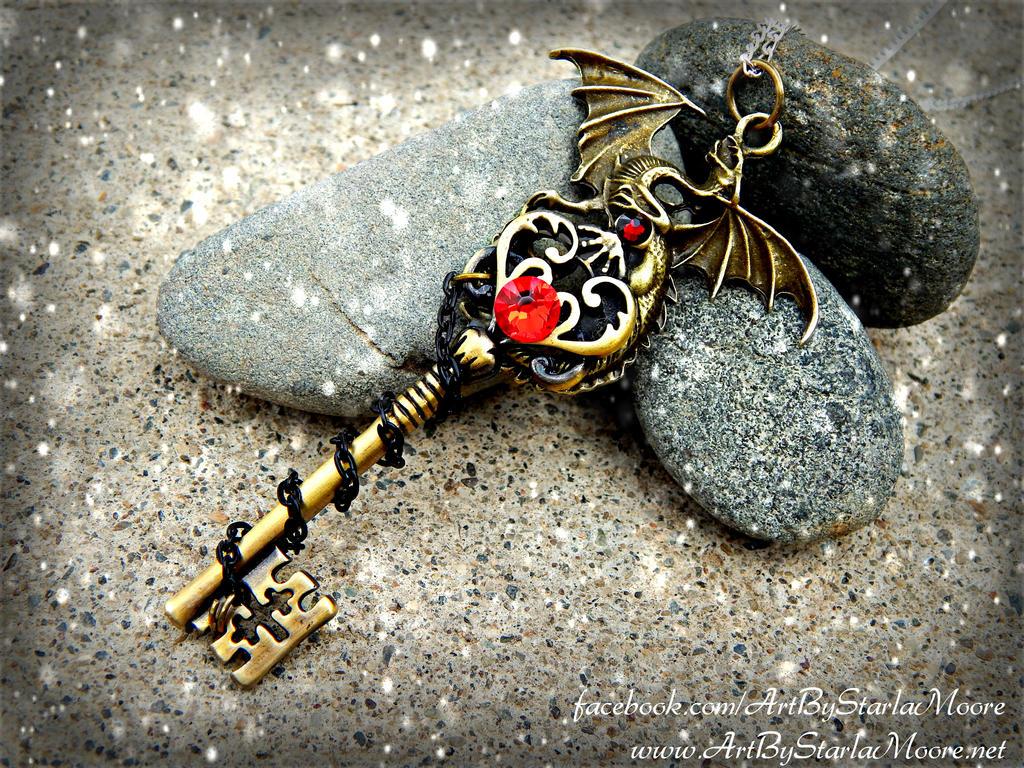 Dragon Gate Key by ArtByStarlaMoore