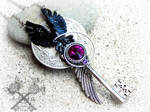 Nevermore - The Raven inspired Key Necklace