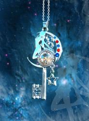Sailor Moon inspired Key Auction by ArtByStarlaMoore