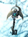 If Neptune had a Skeleton Key Necklace...