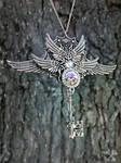 Aurora Queen Skeleton Key Necklace