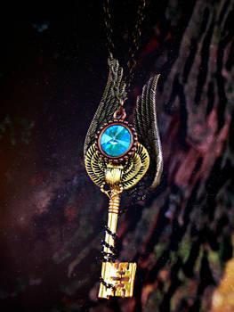 Egyptian Scarab Fantasy Key