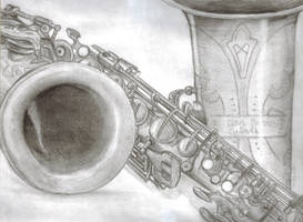 The Saxophone by LUNAtic-36