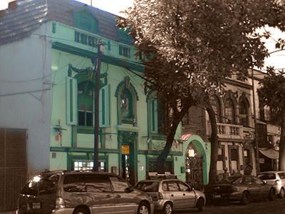 Fachada Verde by maboroshiikiru