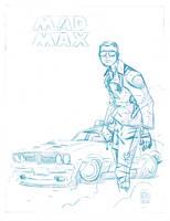 Mad Max Pencil by boston-joe