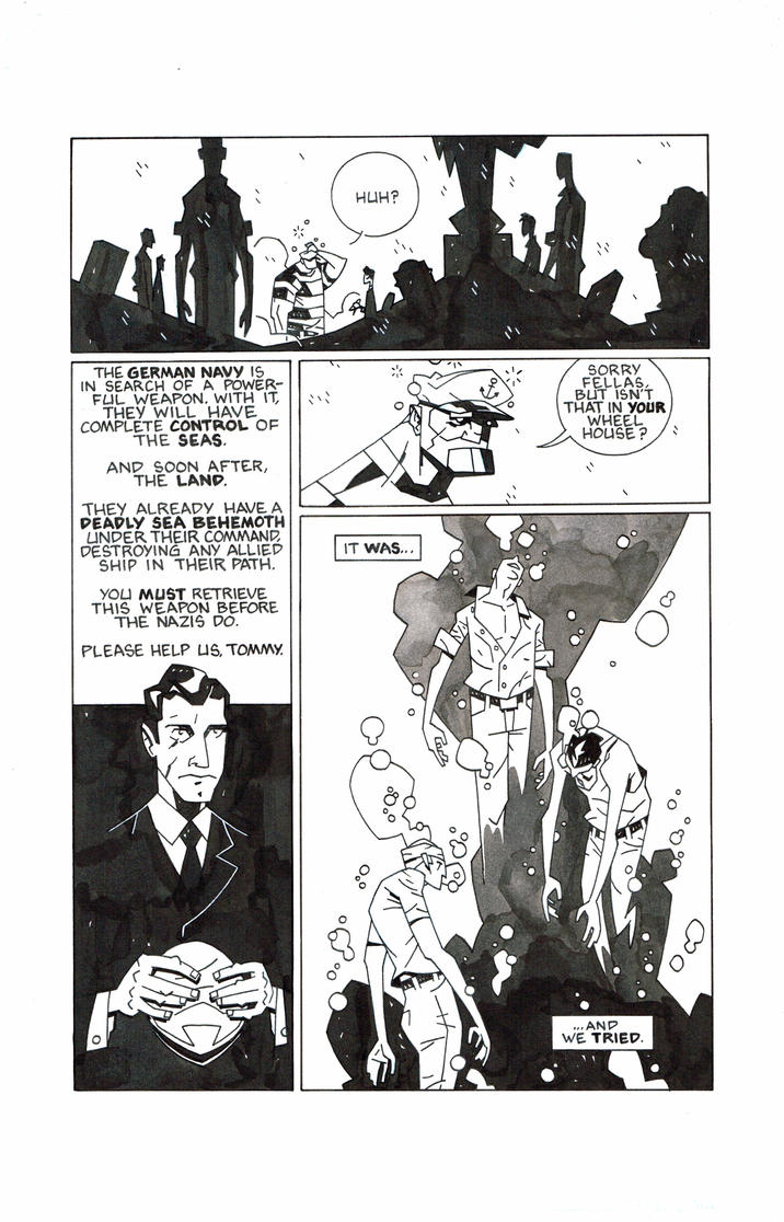 The diver page 5 by boston-joe