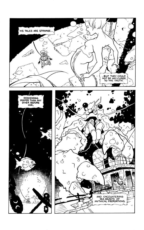 diver intro pg2 inks by boston-joe