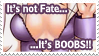 'it's BOOBS' Stamp by Lain-Luscious