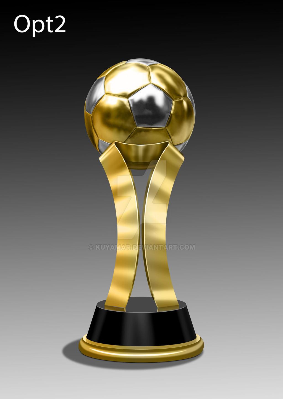 Soccer Football Trophy Sample Opt2 By Kuyamar