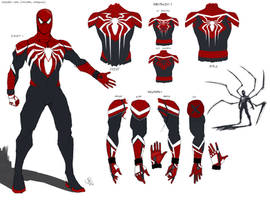 My Spiderman Design by Chocolatebomb247