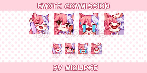 Emote Commission [OPEN!]